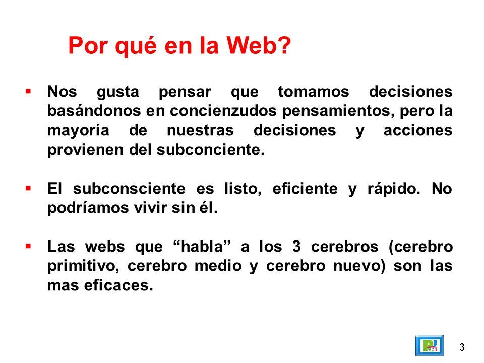 Por qué en la Web