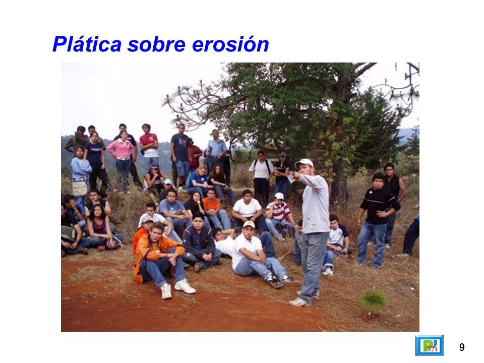 Plática sobre erosión 9