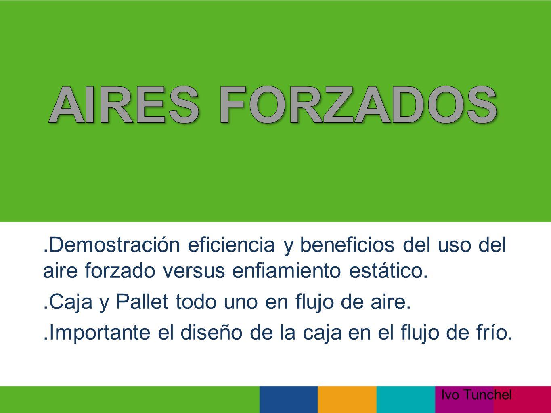AIRES FORZADOS .Demostración eficiencia y beneficios del uso del aire forzado versus enfiamiento estático.