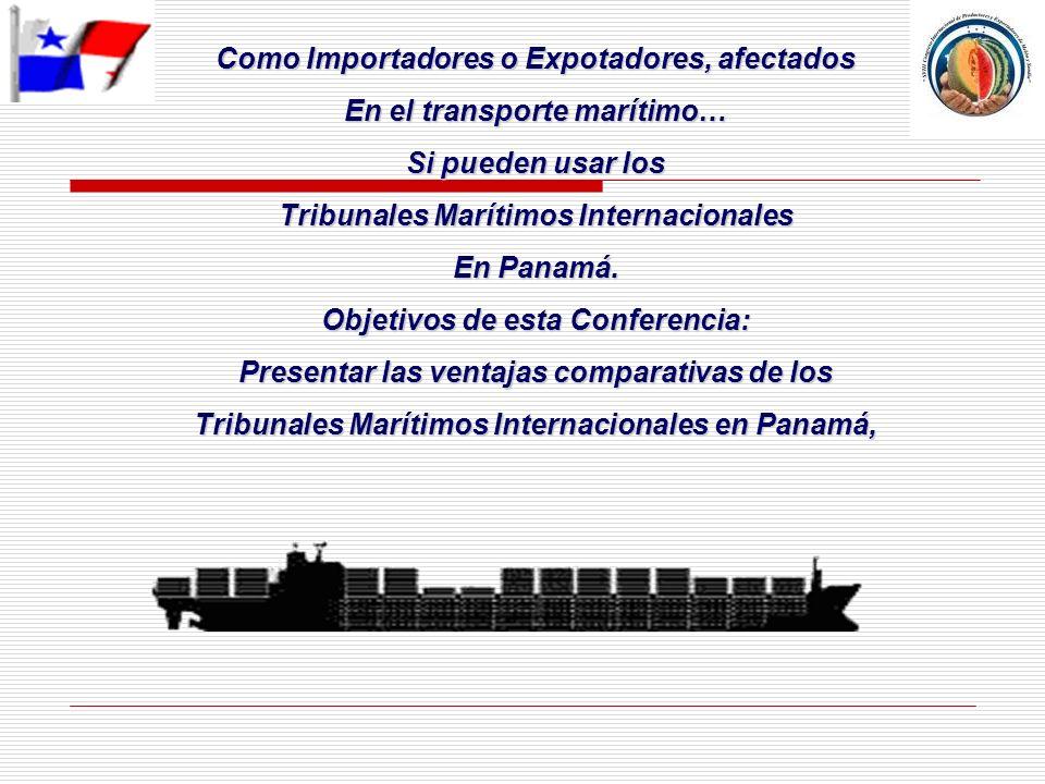 Como Importadores o Expotadores, afectados En el transporte marítimo…