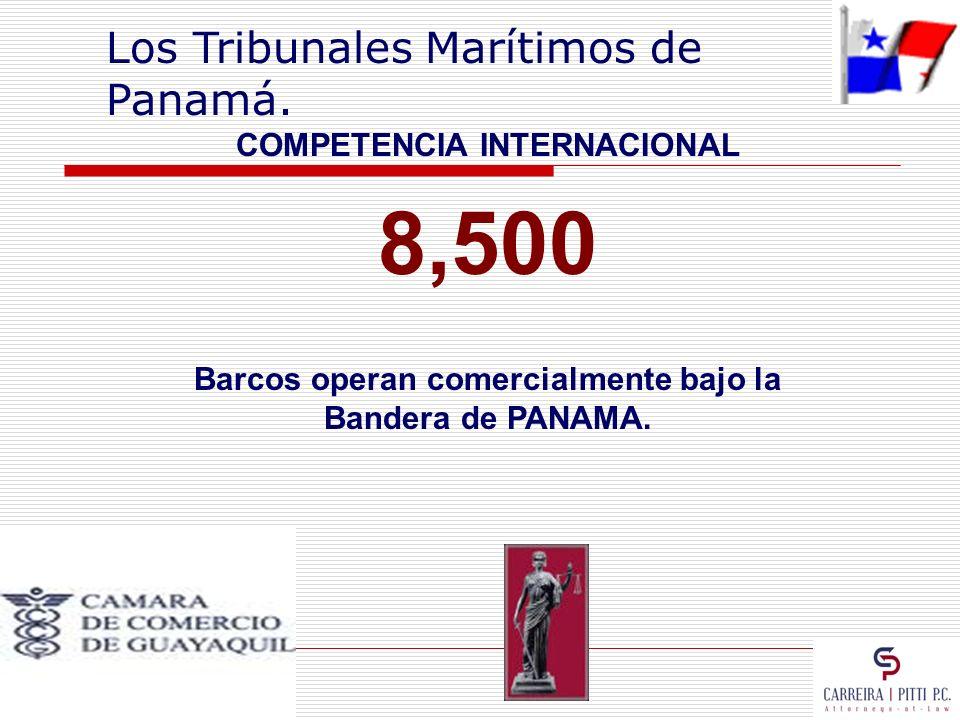 COMPETENCIA INTERNACIONAL Barcos operan comercialmente bajo la