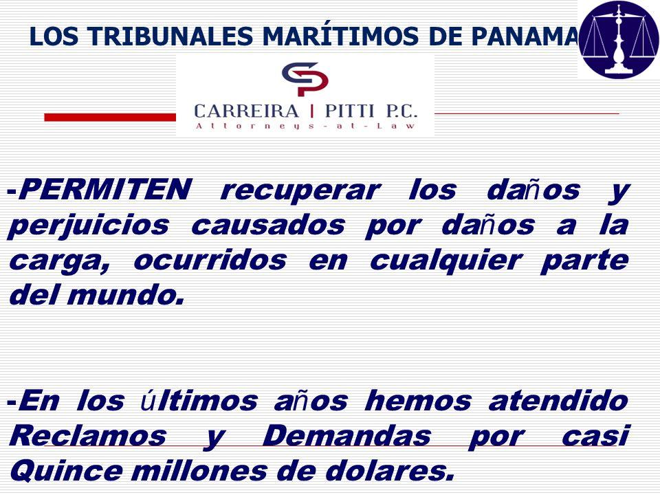 LOS TRIBUNALES MARÍTIMOS DE PANAMA