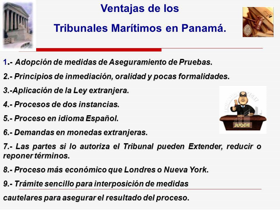 Tribunales Marítimos en Panamá.