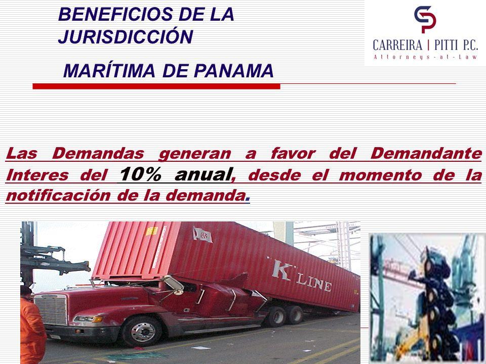 BENEFICIOS DE LA JURISDICCIÓN MARÍTIMA DE PANAMA