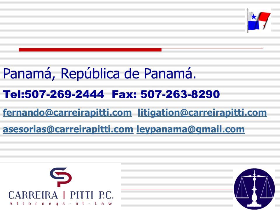 Panamá, República de Panamá.
