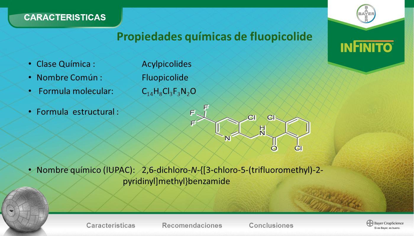 Propiedades químicas de fluopicolide