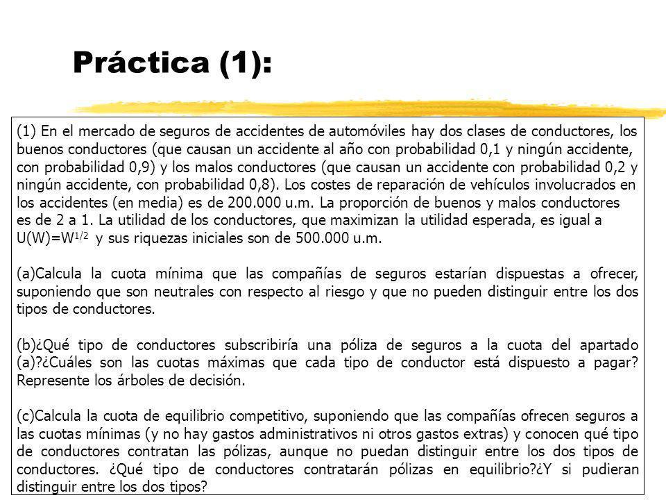 Práctica (1):