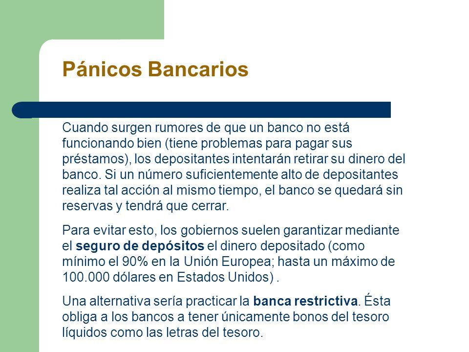 Pánicos Bancarios