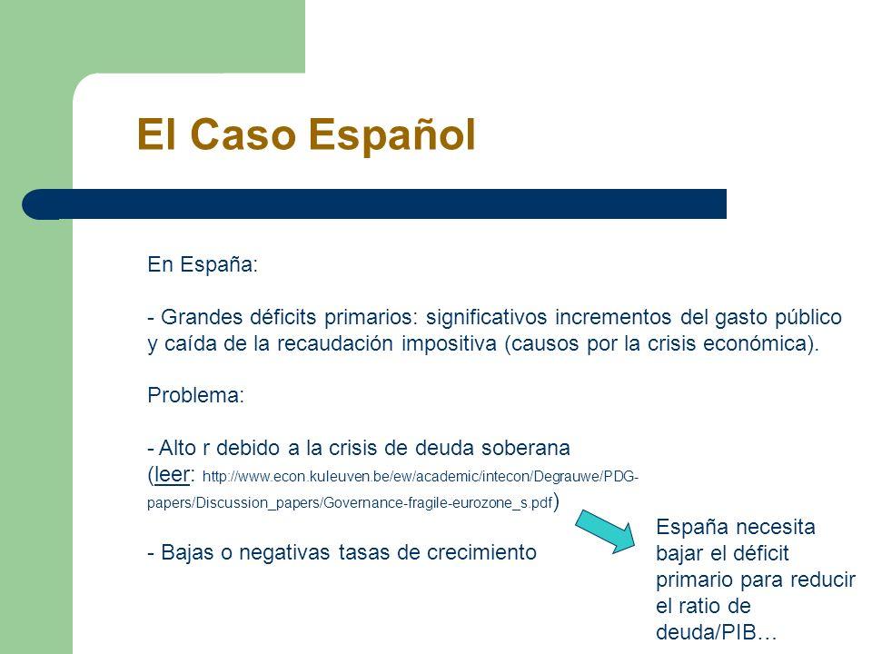El Caso Español En España: