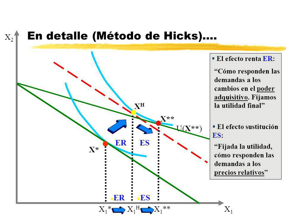 En detalle (Método de Hicks)….