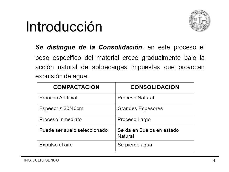 Mecanica de suelos tema compactacion carrera for Consolidacion de suelos