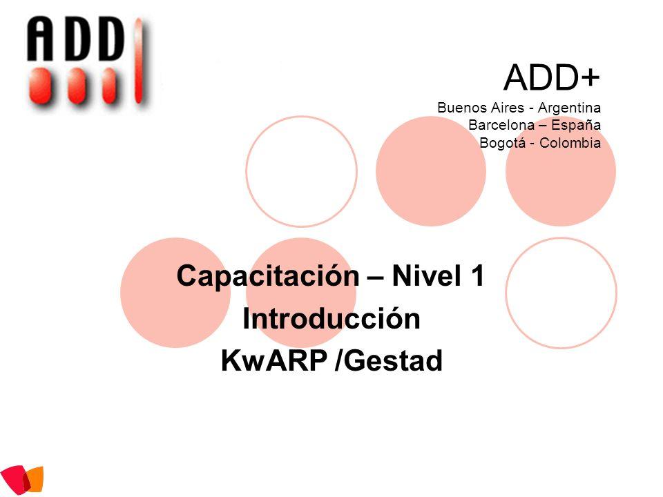 ADD+ Buenos Aires - Argentina Barcelona – España Bogotá - Colombia