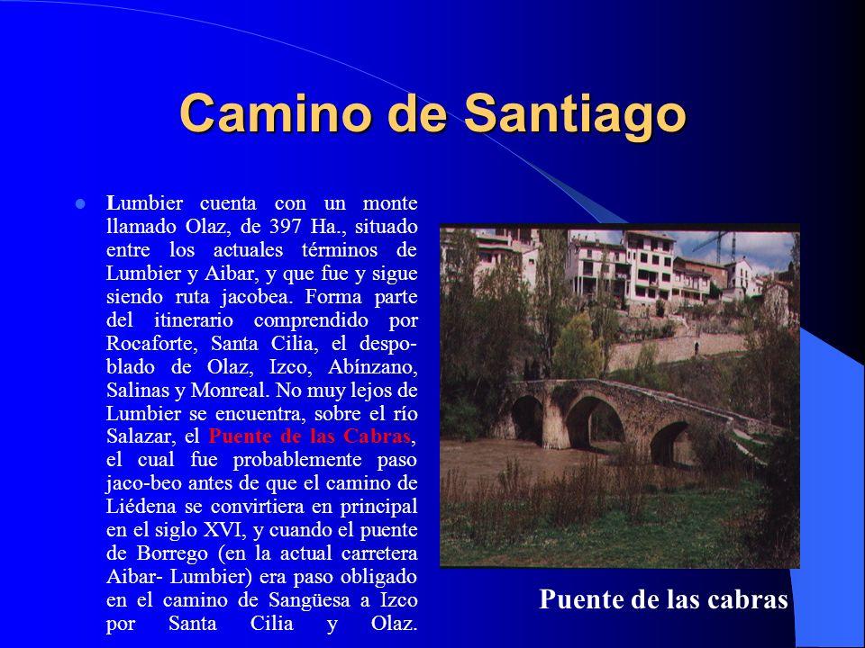 Camino de Santiago Puente de las cabras