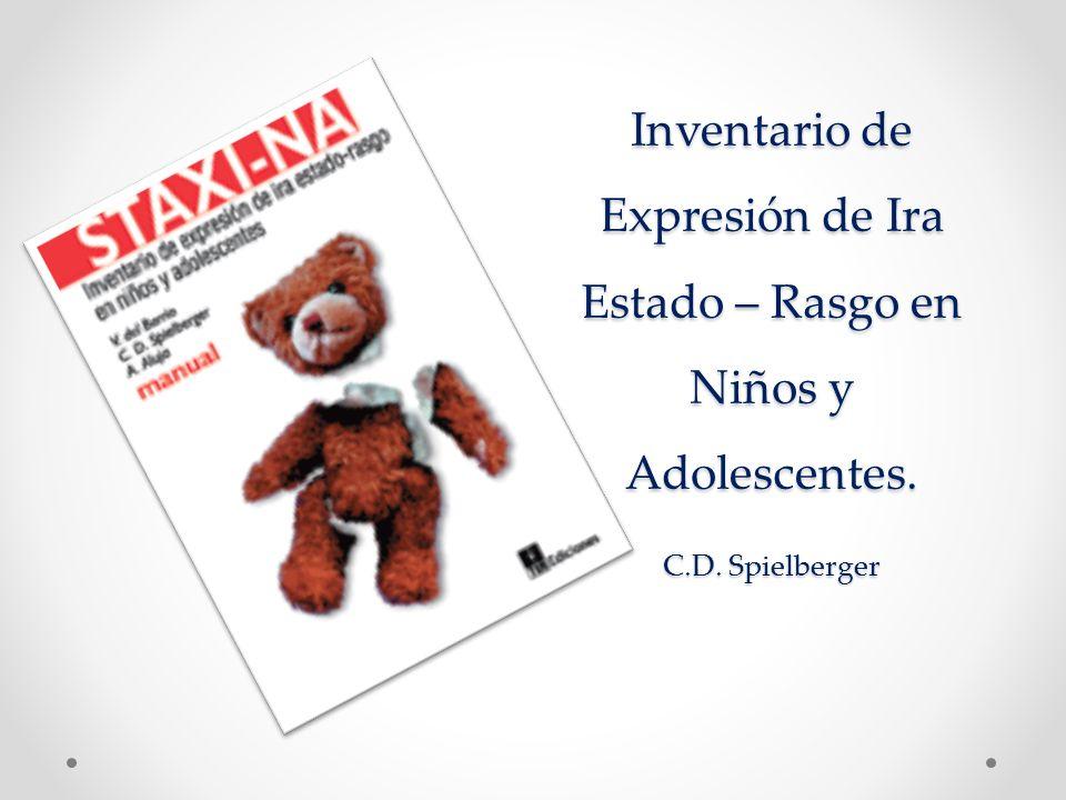 Inventario de Expresión de Ira Estado – Rasgo en Niños y Adolescentes