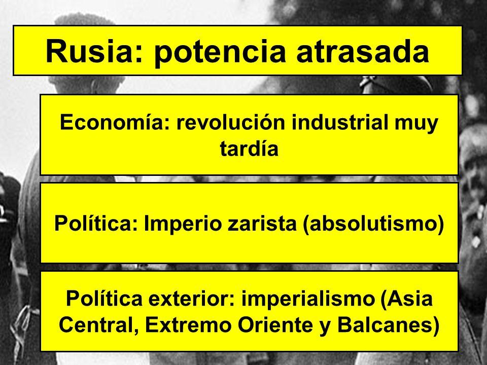 Rusia: potencia atrasada