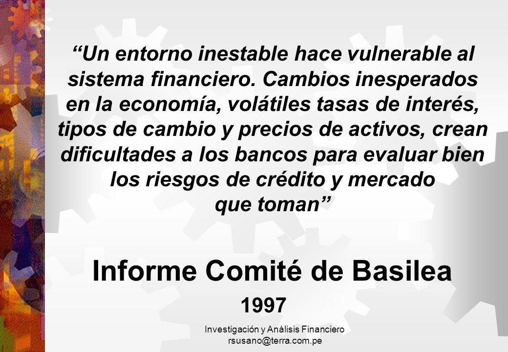 Informe Comité de Basilea