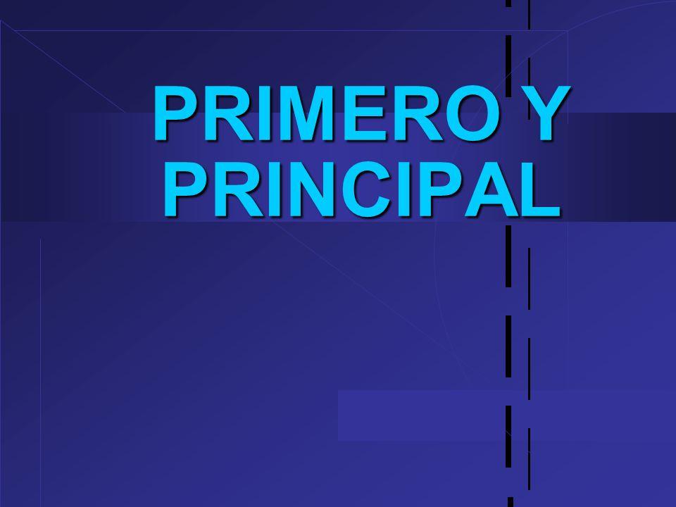 PRIMERO Y PRINCIPAL 12