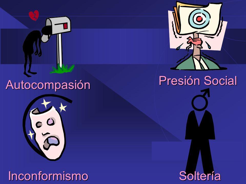 Presión Social Autocompasión Inconformismo Soltería 40