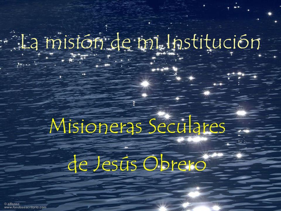 La misión de mi Institución