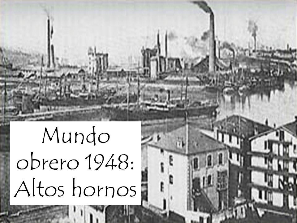 Mundo obrero 1948: Altos hornos