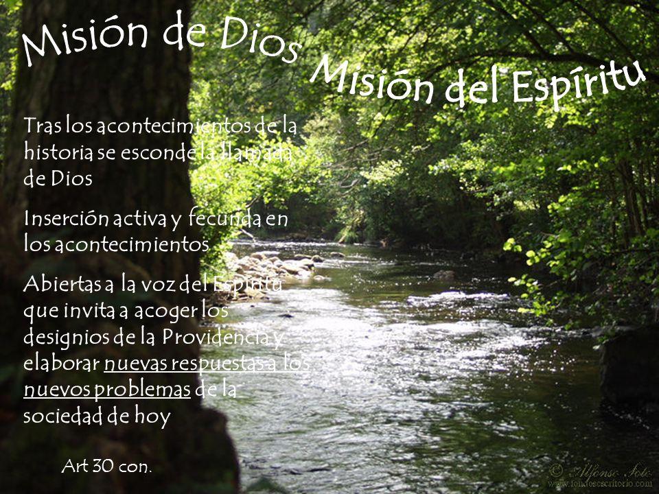 Misión de Dios Misión del Espíritu