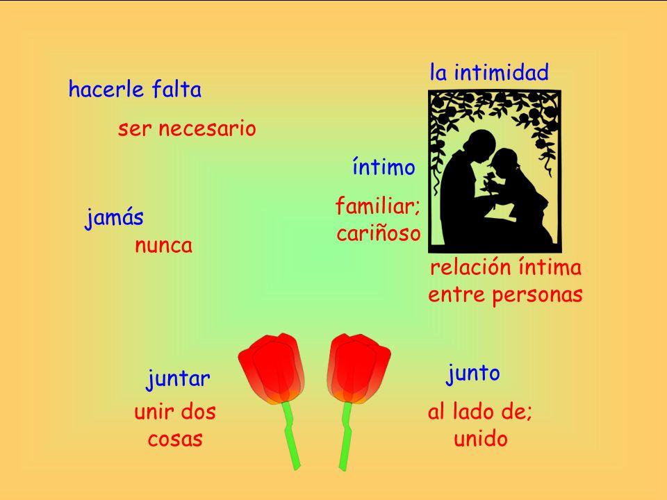 relación íntima entre personas