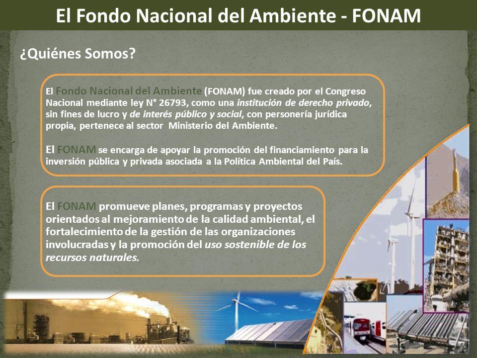 El Fondo Nacional del Ambiente - FONAM