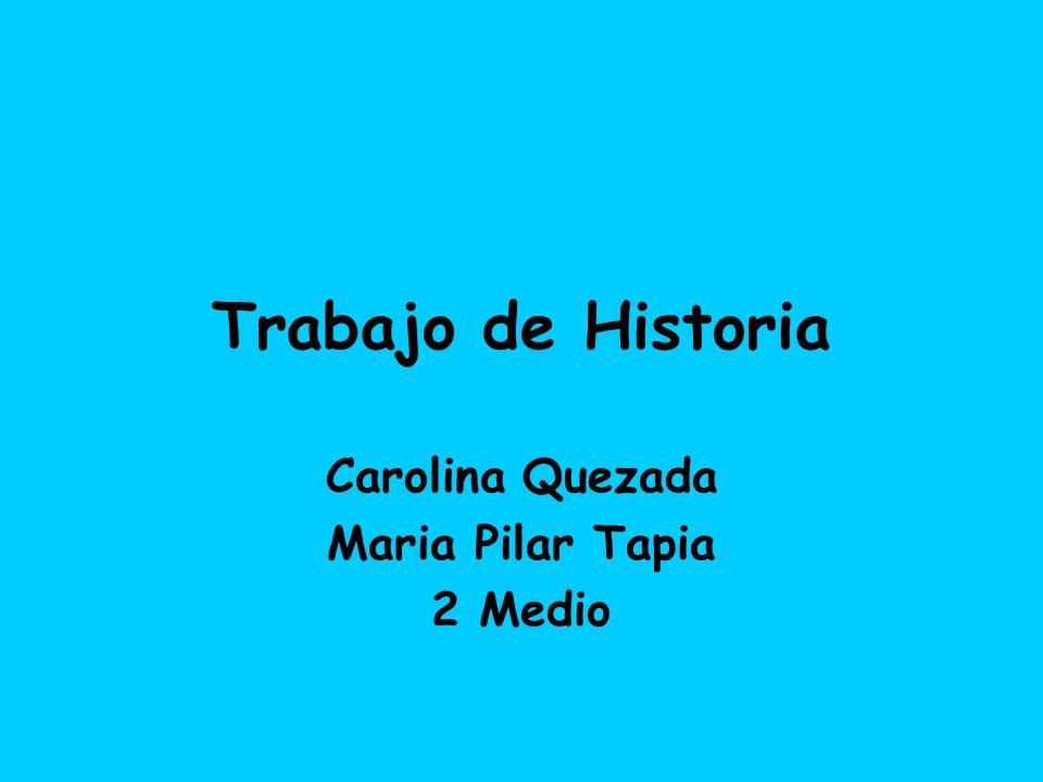 Carolina Quezada Maria Pilar Tapia 2 Medio