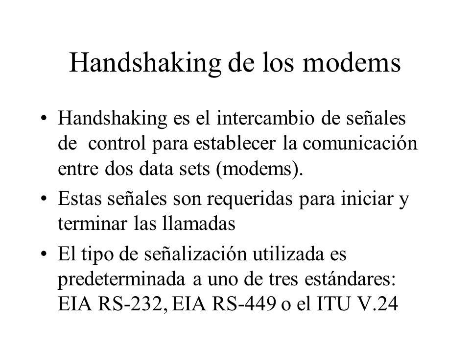 Handshaking de los modems