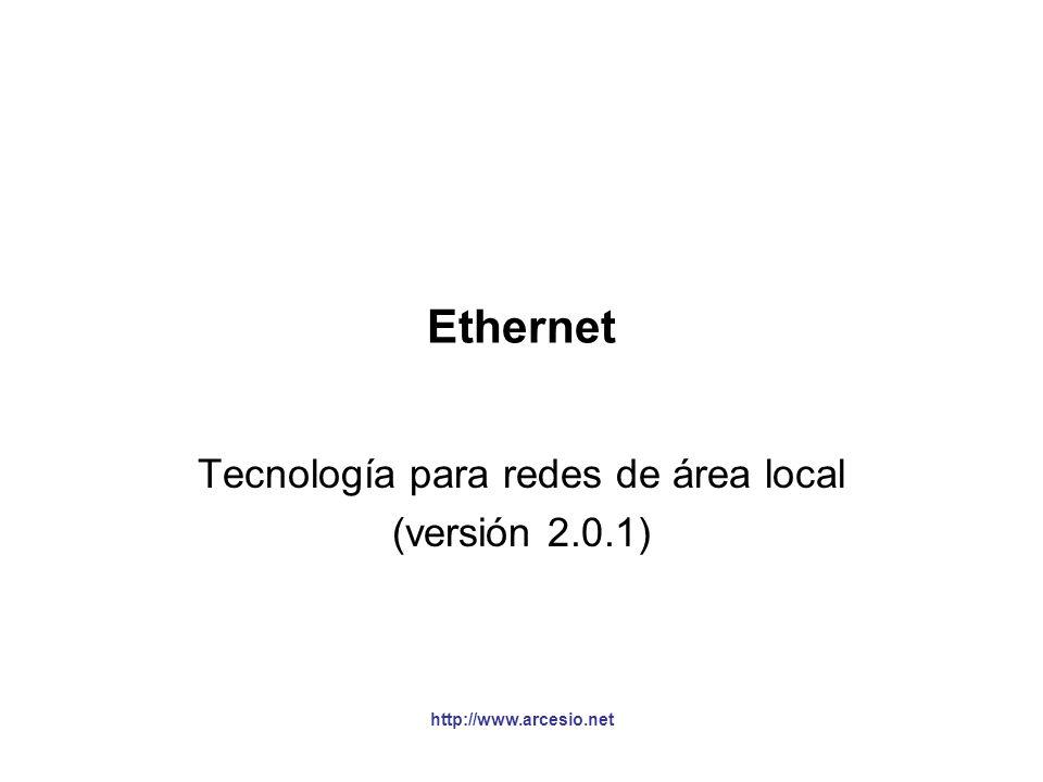 Tecnología para redes de área local (versión 2.0.1)