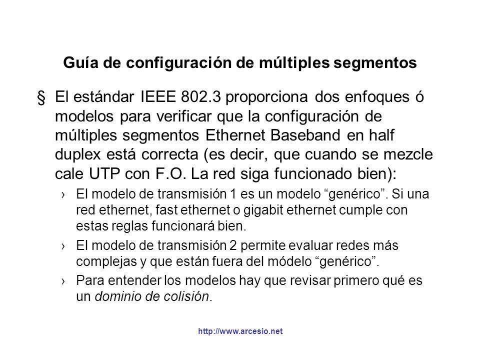 Guía de configuración de múltiples segmentos