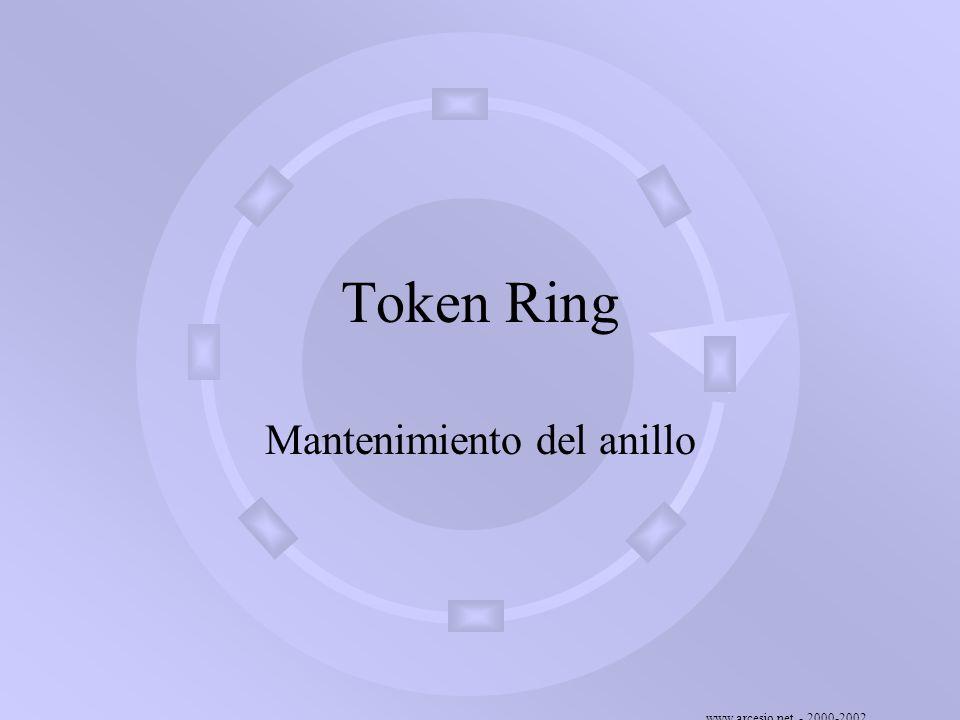 Mantenimiento del anillo