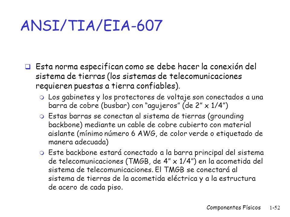 ANSI/TIA/EIA-607