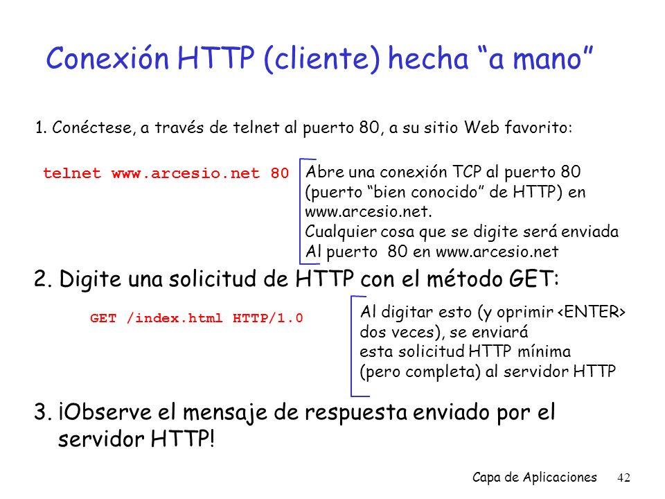 Conexión HTTP (cliente) hecha a mano