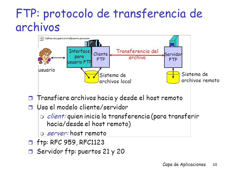 FTP: protocolo de transferencia de archivos