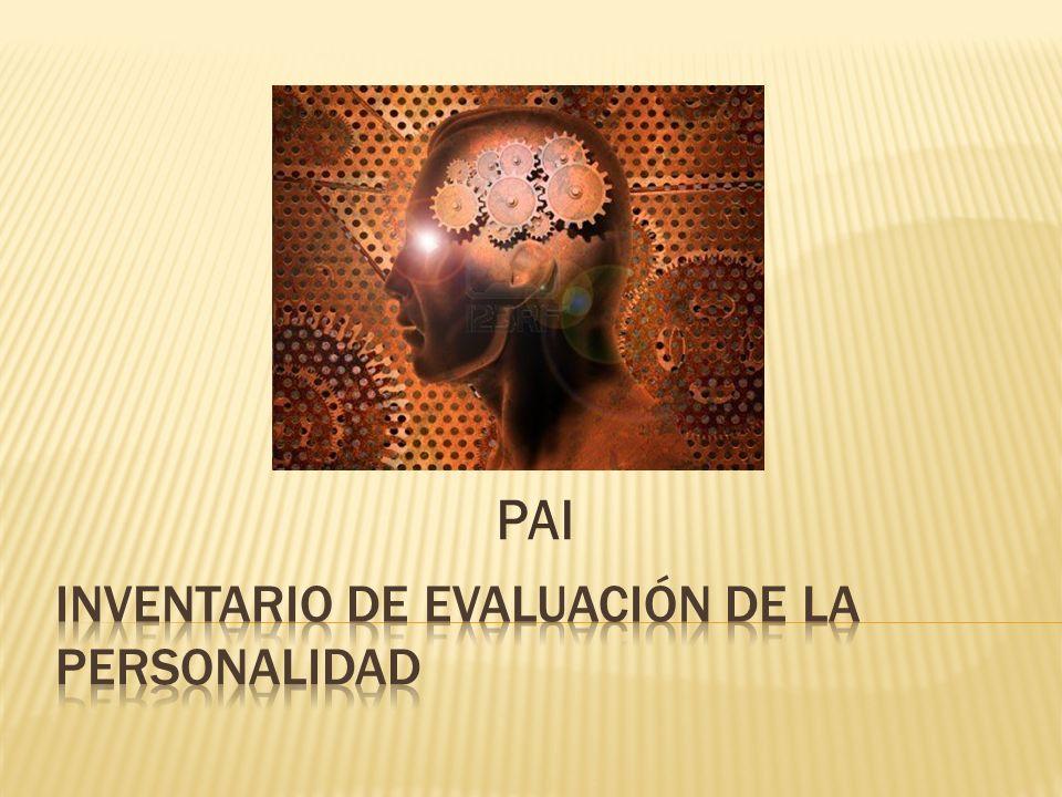 Inventario de evaluación de la personalidad