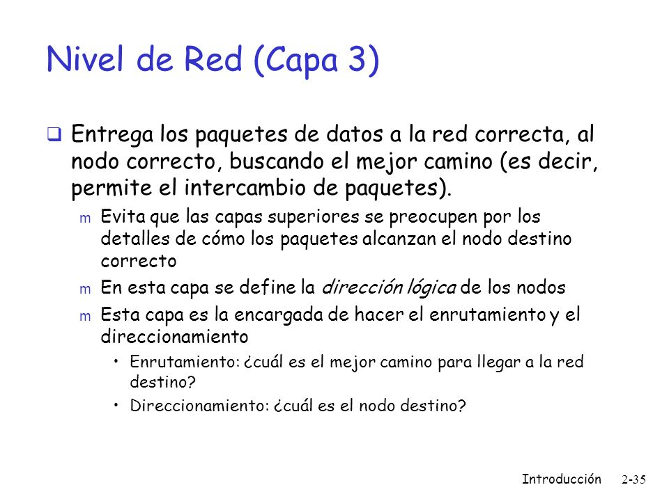 Nivel de Red (Capa 3)
