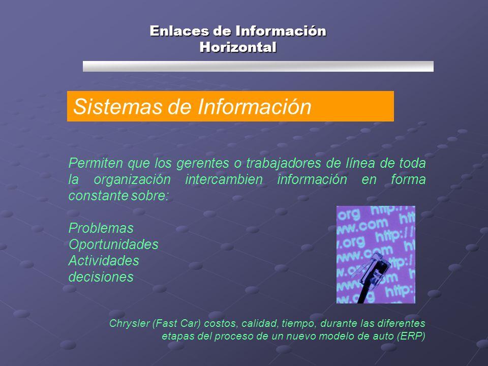 Enlaces de Información Horizontal