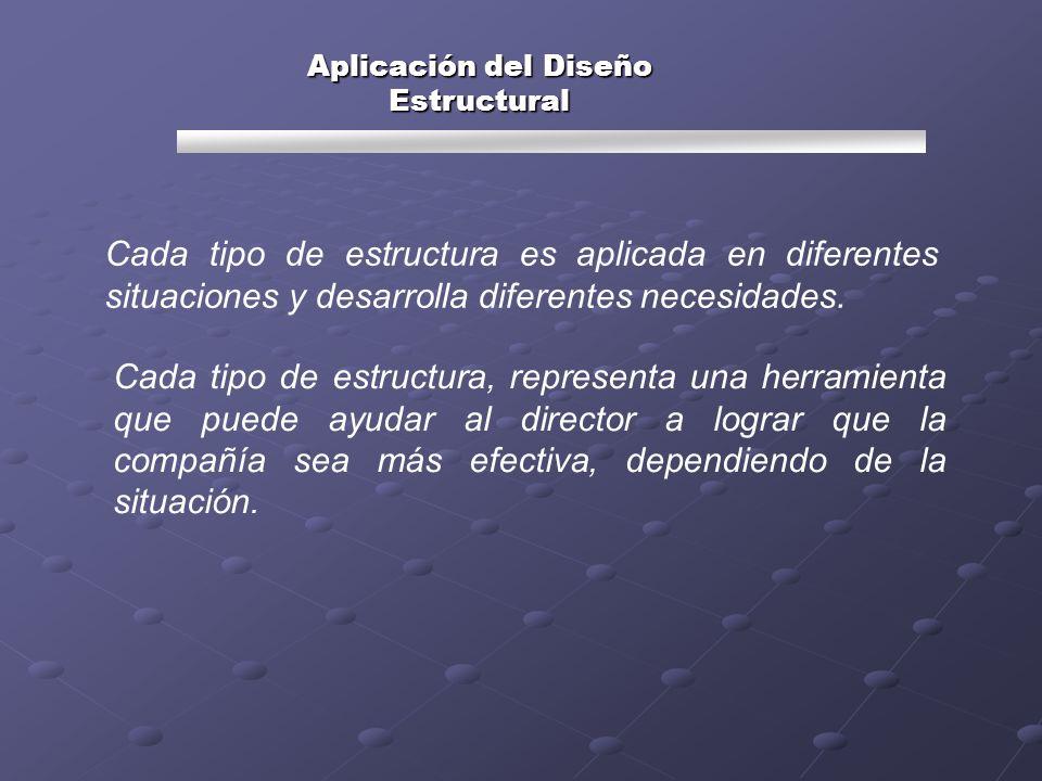 Aplicación del Diseño Estructural