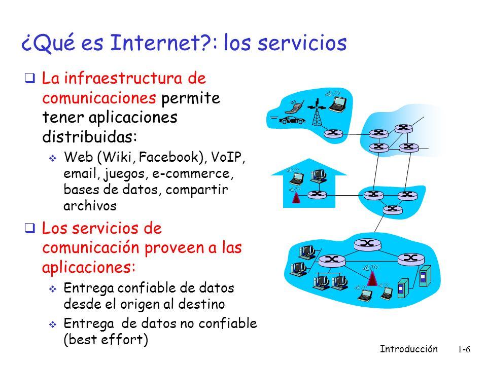 ¿Qué es Internet : los servicios