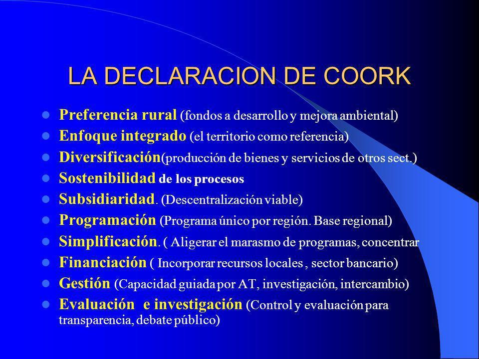 LA DECLARACION DE COORK