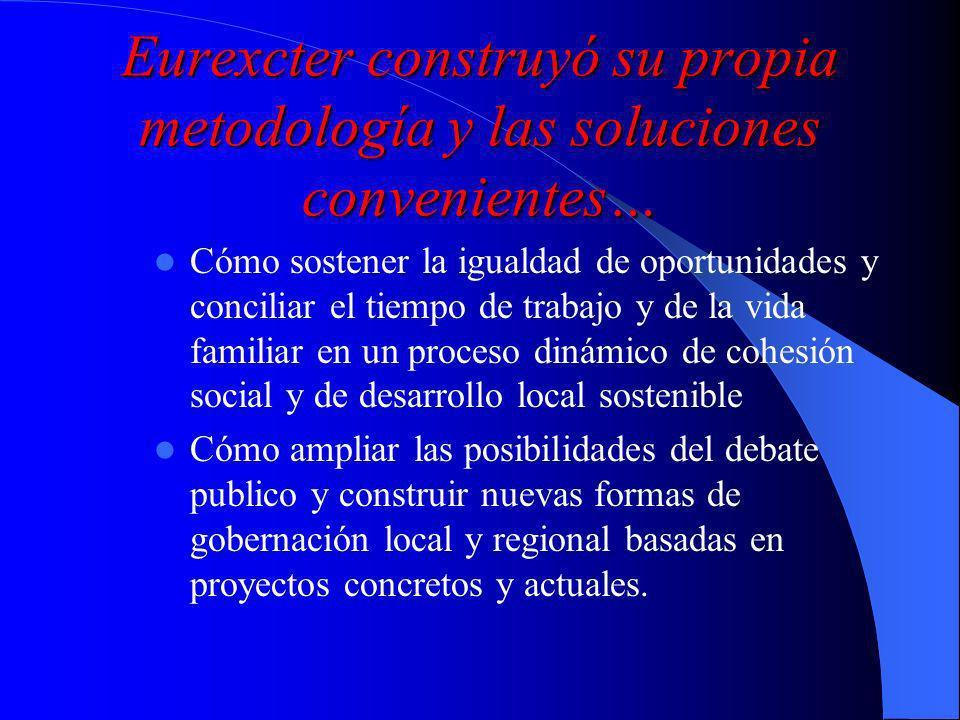Eurexcter construyó su propia metodología y las soluciones convenientes…