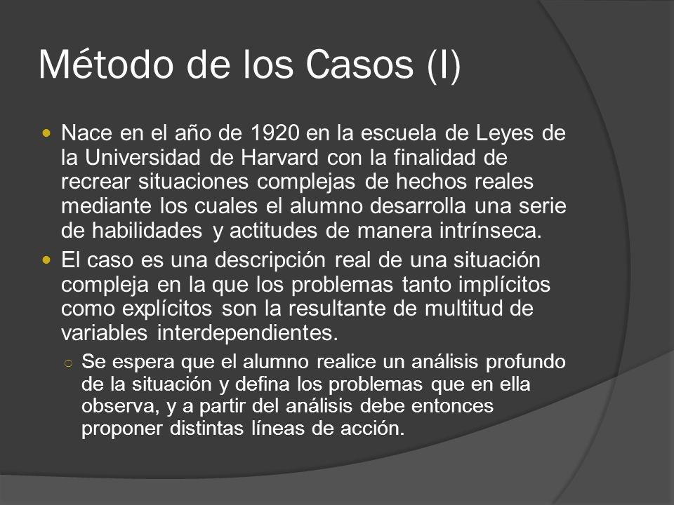 Método de los Casos (I)