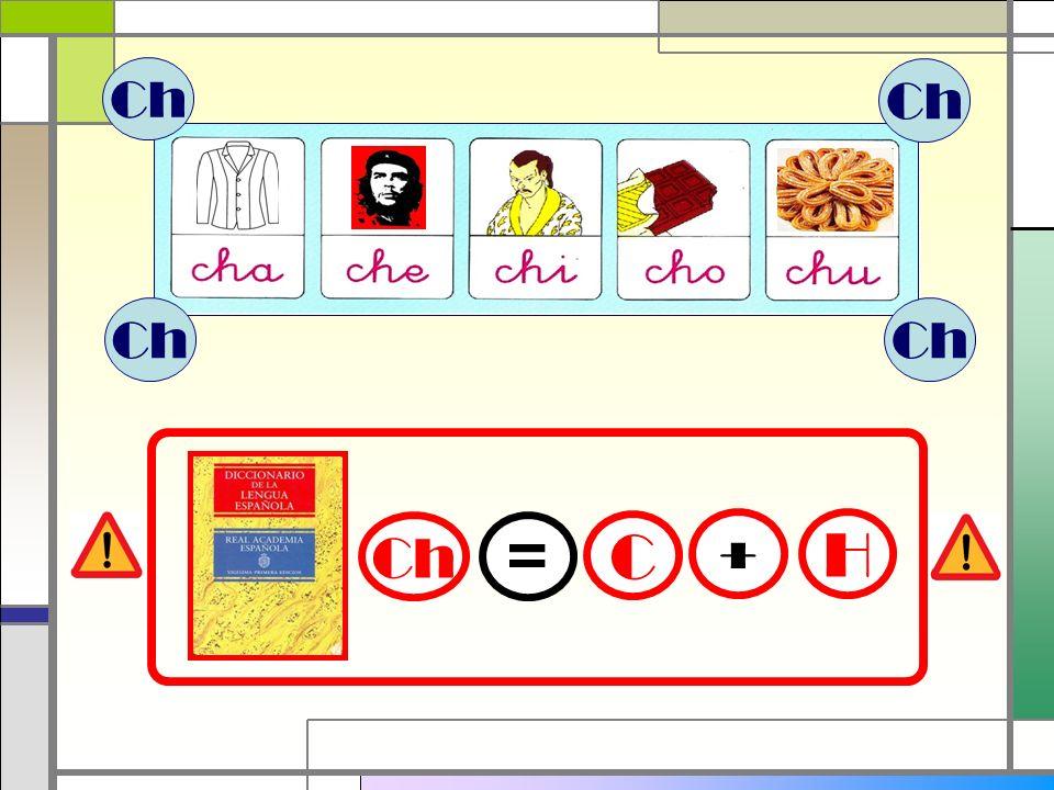 Ch Ch Ch Ch Ch = C + H