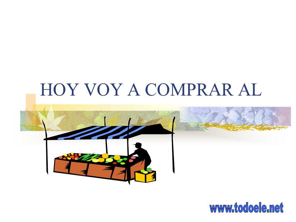 HOY VOY A COMPRAR AL www.todoele.net
