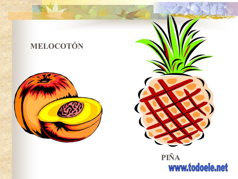 MELOCOTÓN PIÑA