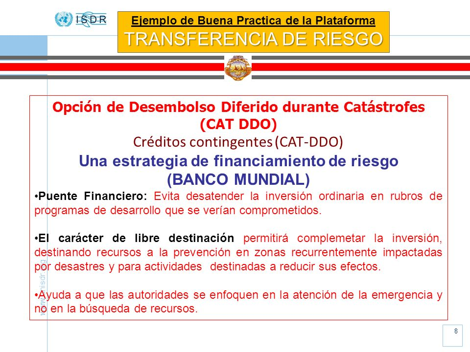 TRANSFERENCIA DE RIESGO