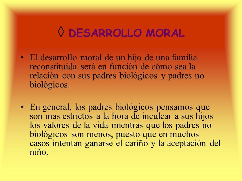 ◊ DESARROLLO MORAL