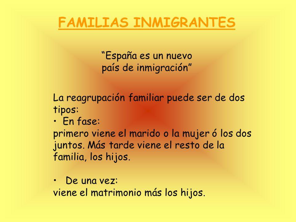 España es un nuevo país de inmigración
