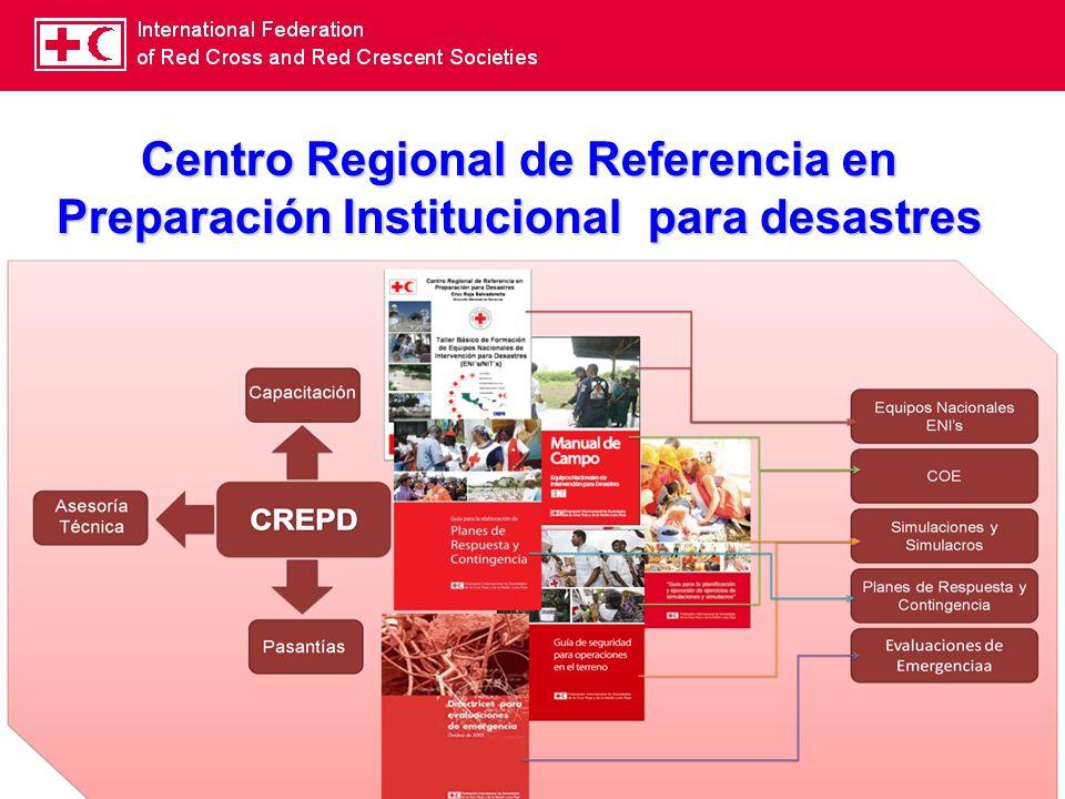 Centro Regional de Referencia en Preparación Institucional para desastres